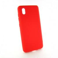 ZTE Blade A3 Чехол Силиконовый Colorful red
