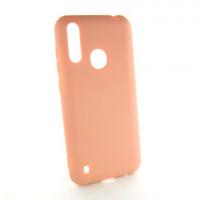 ZTE Blade A7 Чехол Силиконовый Colorful peach