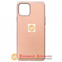 Iphone 11 матовый чехол Electroplate pink