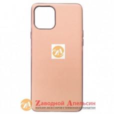 Iphone 11 pro матовый чехол Electroplate pink