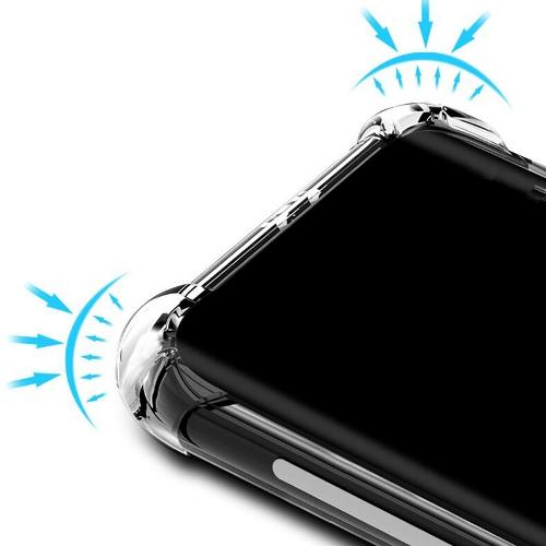Iphone 12 pro max Прозрачный чехол Антишок