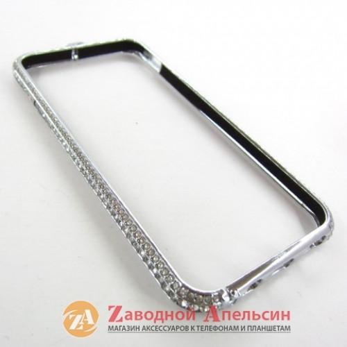 IPhone 6 6s 7 8 se 2020 бампер Luxery diamond silver