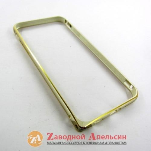 IPhone 6 6S 7 8 se 2020 бампер металлический Fashion gold