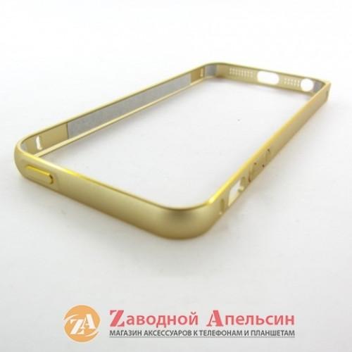 IPhone 5 5s se бампер металлический Fashion gold