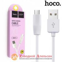USB 3.0 кабель Hoco X1 Type-C 3A 1m