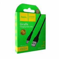 micro USB кабель микро длинный штекер hoco DU24