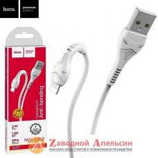 USB кабель Apple iPad iPod lightning classic hoco X37 1м