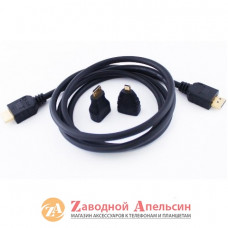 HDMI 3 в 1  микро мини micro mini 1,5м