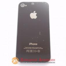 iPhone 4G крышка задняя black