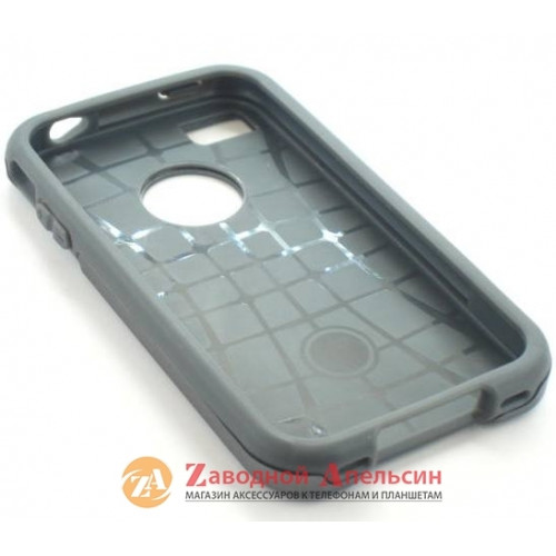 Iphone 4 4S противоударный чехол Motomo grey