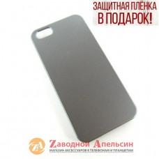 IPhone 5 5s se пластиковый чехол серый