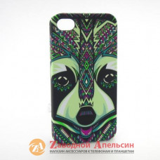 IPhone 4 4S фосфорный чехол LUXO Animal енот