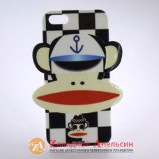 IPhone 5 5S чехол Paul Frank обезьяна