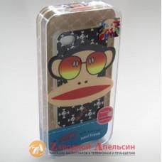 IPhone 4 4S чехол Paul Frank обезьяна
