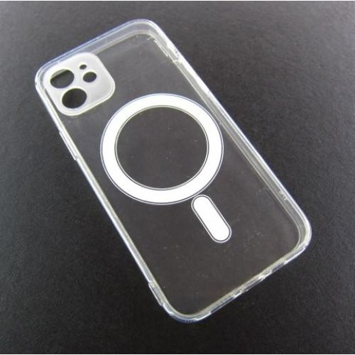 Iphone 12 прозрачный чехол магнит MagSafe
