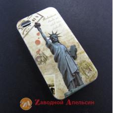 IPhone 4 4S чехол рисунок статуя свободы USA