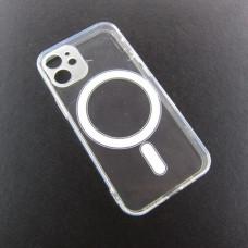 Iphone 12 mini прозрачный чехол магнит MagSafe