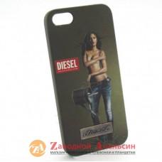 IPhone 5 5s se пластиковый чехол Diesel
