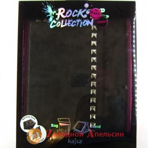 iPad 2 3 4 чехол книжка клатч KAJSA Rock