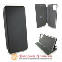 Чехол книжка Samsung A12 A125 M12 M125 подставка black