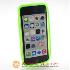 IPhone 5C силиконовый чехол красный
