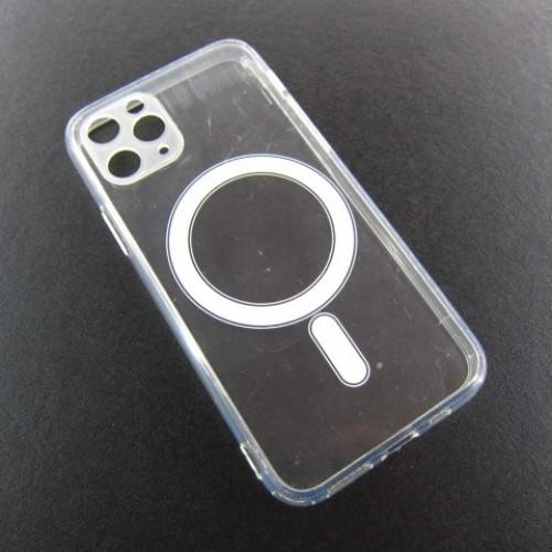 Iphone 11 pro прозрачный чехол магнит MagSafe