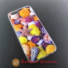 IPhone 5 5s se чехол рисунок ракушки Seashells