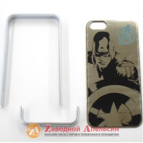 IPhone 5 5S se чехол-бампер Капитан Америка Marvel
