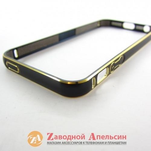 IPhone 5 5s se бампер металлический Fashion black