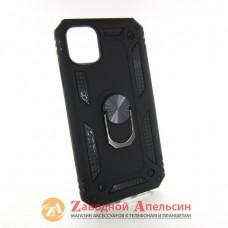 Iphone 11 противоударный чехол Hybrid кольцо