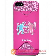 IPhone 5 5S se брендовый чехол Keith Haring