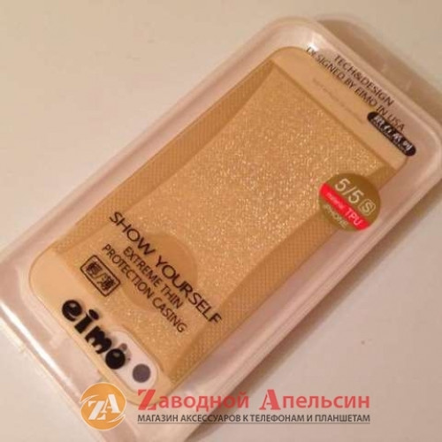 IPhone 5 5s se силиконовый чехол градиент Eimo