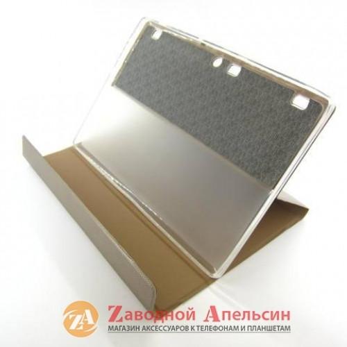 Lenovo Tab2 A10-70 A7600 чехол книжка Book Cover gold