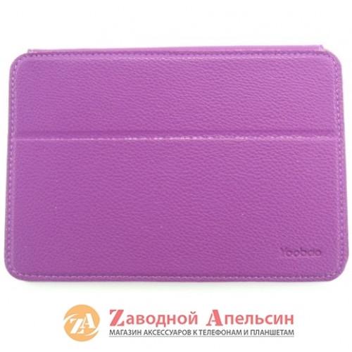 iPad mini 1 2 3 чехол Yoobao Leather Case purple