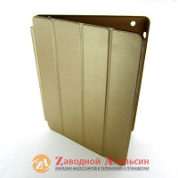 iPad 2 3 4 чехол книжка Smart Case gold