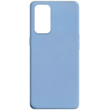 Oppo Reno 5 чехол силиконовый soft touch bluesky