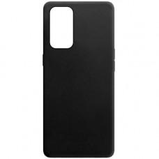 Oppo Reno 5 силиконовый чехол soft touch black