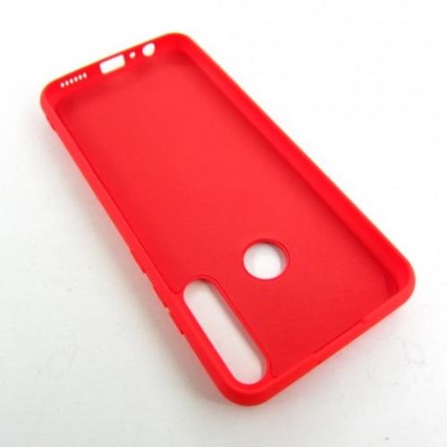Huawei Y6P чехол красный Colorful red