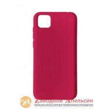 Huawei Y5P силиконовый чехол Colorful алый