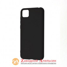 Huawei Y5P силиконовый чехол Grand black