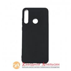 Huawei Y6P силиконовый чехол Grand black