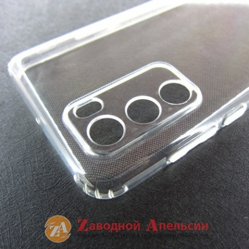 Huawei P40 (ANA-AN00) прозрачный чехол защита камеры