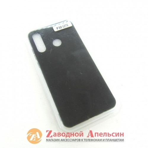 Huawei P30 lite (MAR-LX1M) силиконовый чехол Grand black