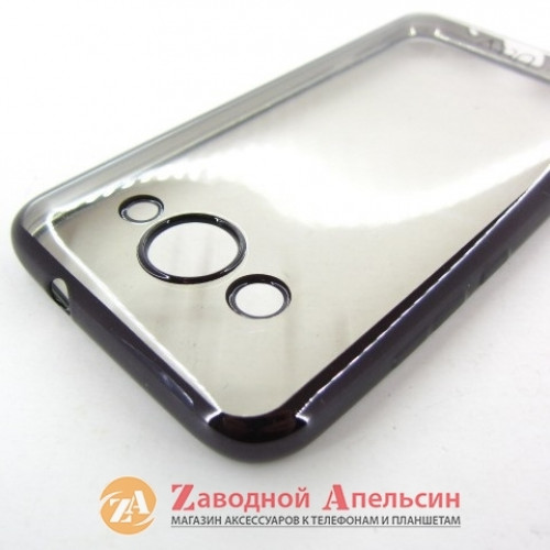 Huawei Y3 2017 CRO-U00 чехол Eleсtroplating grey