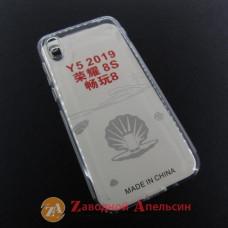 Huawei Y5 2019 honor 8s прозрачный чехол защита камеры
