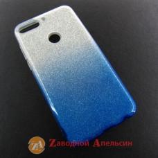 Huawei Y7 2018 honor 7C pro (LDN-L21) чехол shining glitter