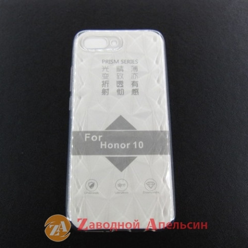 Huawei Honor 10 COL-L29 прозрачный чехол 3D Prism
