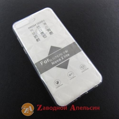 Huawei Y7 2018 honor 7C pro LDN-L21 прозрачный чехол Prism