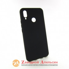Huawei P Smart plus (INE-LX1) защитный чехол Grand black