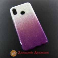 Huawei P Smart plus (INE-LX1) чехол блестки Shining Glitter Bling
